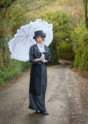 Edwardian Gown, hat and accessories