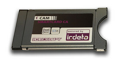 ICECRYPT Irdeto Cam CI Module (Common Interface Module) for Pay TV Services
