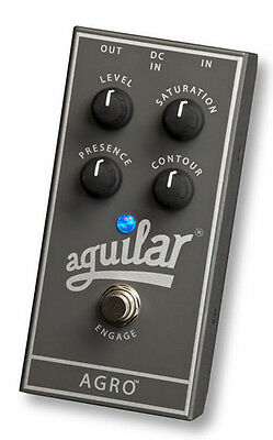 Aguilar Agro Bass Saturation & Overdrive pedal
