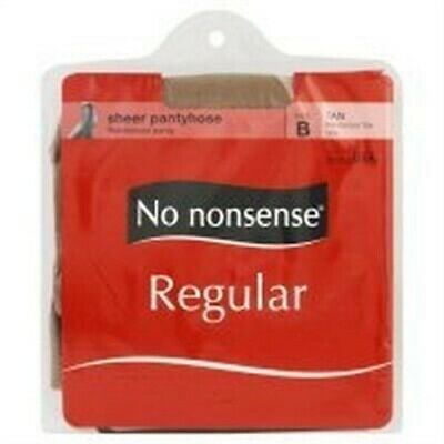 No Nonsense 024/J66q Tan Sheer To Waist Nylons,No 024/J66Q       ,  No Nonsense