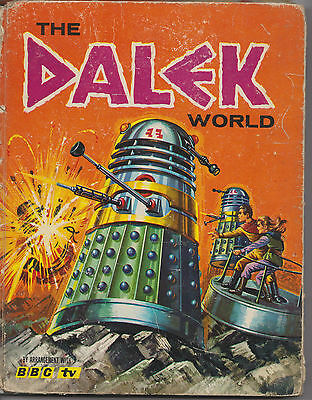 Rare: The Dalek World, published 1965.  Dr Doctor Who.