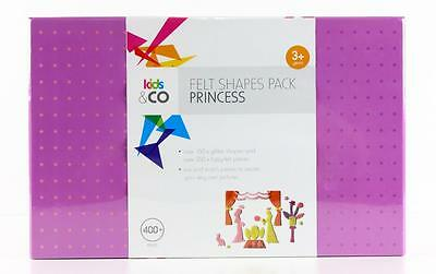 Princess Felt Shapes Pack 400pcs - Picture Shapes For Felt Story Board  New