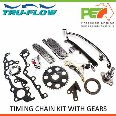 New * TRU FLOW *Timing Chain Kit With Gears For Toyota Hilux RZN169R 2.7L 3RZ-FE
