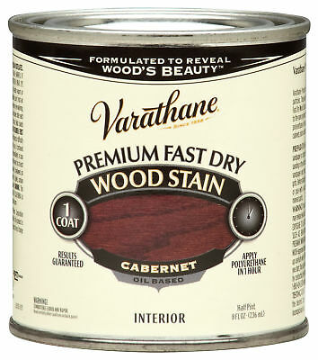 Varathane 262035 1/2 Pint Cabernet Fast Dry Wood Stain,No 262035,  Rustoleum