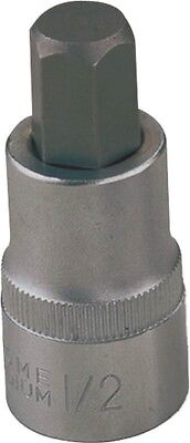 Socket Hex Bit 12mm 1/2dr Met,No 3506011813,  Mintcraft