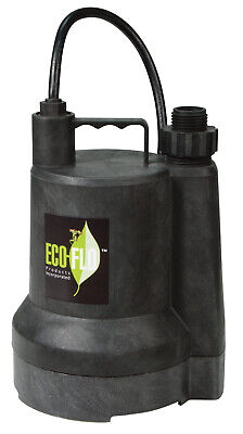 Eco Flo Sup54 1/6 Hp Submersible Utility Pump,No SUP54          ,  Eco Flo
