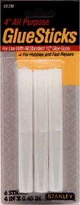 Glue Stick Superstr 4in 6pk,No GS500,  Stanley Consumer Tools