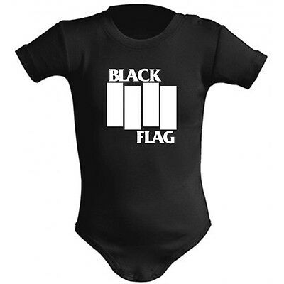 Body Bebe Black Flag