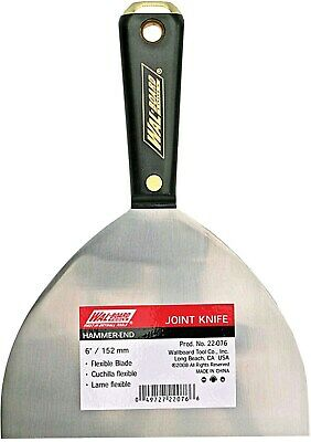 Knife Joint 6in Hammer End,No 22-076,  Wallboard Tool Company Inc
