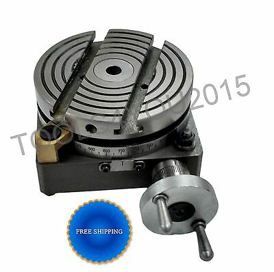 """4"""" (100mm) ROTARY TABLE FOR MYFORD LATHE VERTICAL SLIDE"""