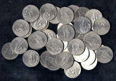 2009 P Jefferson Nickel Roll ( 40 coins ) all circulate #2