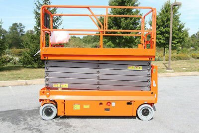 2008 Genie TZ34/20 Towable Trailer Mounted Boom Lift - BILJAX JLG SNORKEL