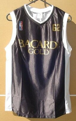 Bacardi Gold NBA Jersey - New - Medium