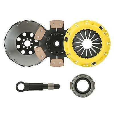Clutchxperts Stage 3 Phase Clutch+Flywheel Kit 92-05 Honda Civic Delsol D16 D17