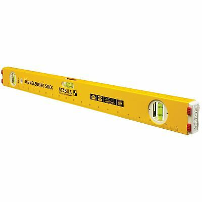 """Stabila 80A-2 24"""" Measuring Stick Double Bridged Frame and 3 Scales - 29124"""
