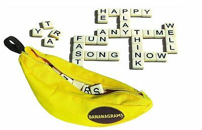 Bananagrams Crossword Word Game Puzzle NEW FREE SHIPPING Games Family Fun Set