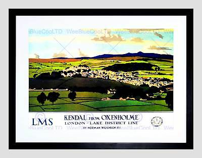 Travel Kendal Cumbria England Uk Lake District Valley Framed Art Print B12X7960