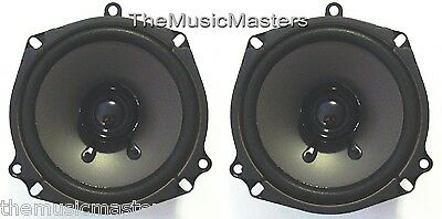 "Pair 5.25"" inch 5 1/4"" Car Stereo Audio SPEAKERS Factory OEM Style Replacements"