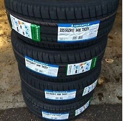 4 New Triangle SPORT TH201 94W TIRES 225/50R17 225 50 17 2255017