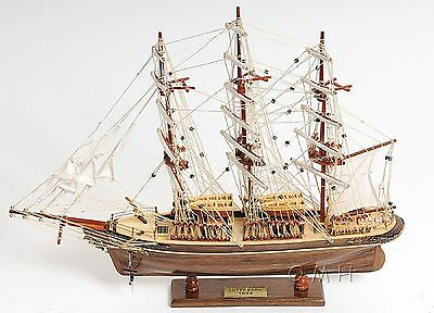 18th CENTURY ANTIQUE STYLE CUTTY BRITISH DIPPER SHIP MODEL SARK  REPLICA