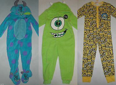 Primark Girls Boys Kids All In One Sleep Suit Footed / Footless Pyjamas 2 - 13
