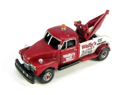 N Scale 1950's Wally's Tow Truck Kit- Model Railroad by Showcase Miniatures (31)