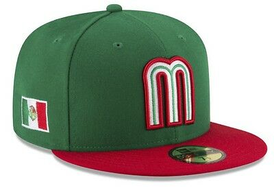 Mexico World Baseball Classic WBC NATIONAL  Team New Era 59FIFTY Fitted Hat
