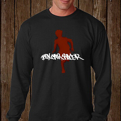 New Box Car Racer Hard Rock Band Men's Long Sleeve Black T-Shirt Size S-3XL