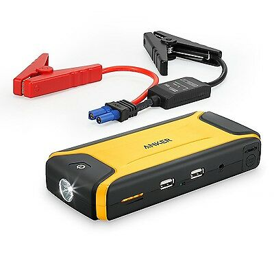 Anker Compact Car Jump Starter and Portable Charger Power Bank with 400A Peak...