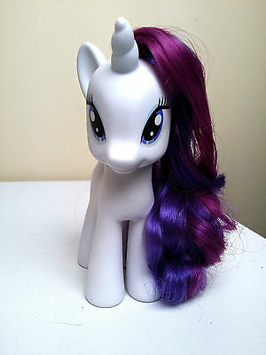 "RARITY- My Little Pony 2010 Fashion Style - 6"" inches- My Little Pony FIM"