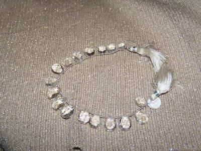 Beautiful String Of White Kunzite Briolettes' Sale Priced  Wow