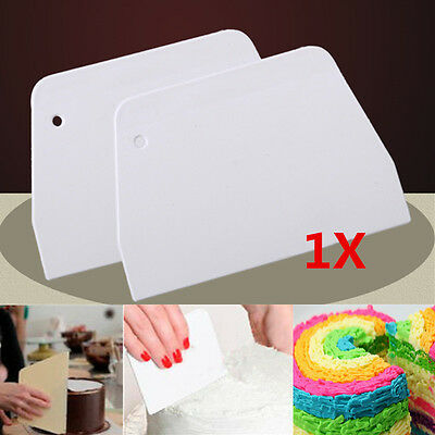 Cake Smoother Polisher Tools Cutter Decorate Fondant Cream Icing Mold Medium US