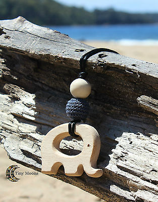 Wood alternative to Silicone Nursing Necklace baby (Teething Toys Available)