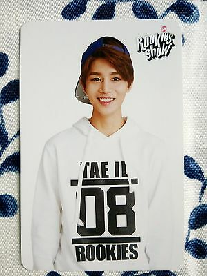 NTC-U Taeil Pre-debut official photo card signed signature SMRookies