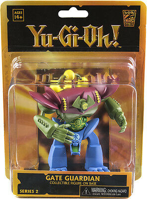 "YU-GI-OH! ~ Gate Guardian 3.75"" Series 2 Figure (NECA) #NEW"