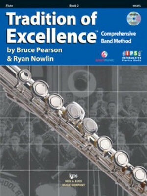 Tradition Of Excellence Book 2 Flute, interactive practice studio.