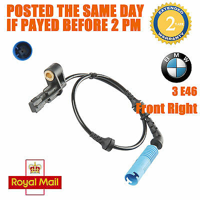 1x BMW 3 E46 Estate Saloom With DSC Front Right Wheel Speed Sensor New