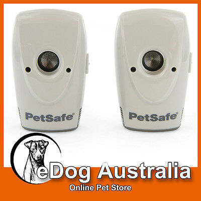 PetSafe Ultrasonic Indoor Bark Control Devices - Pack of 2 [PS010 PBC17-14777]
