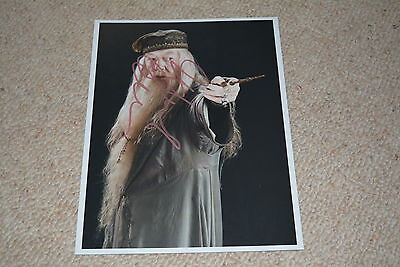 MICHAEL GAMBON signed Autogramm 20x25 cm In Person HARRY POTTER Dumbledore