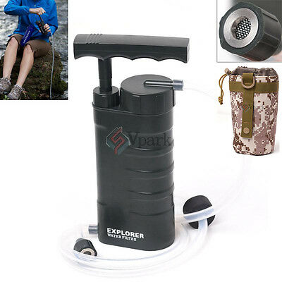 Outdoor Survival 0.01 Micron Nanofiltration Water Filter Purifier Cleaner w Bag