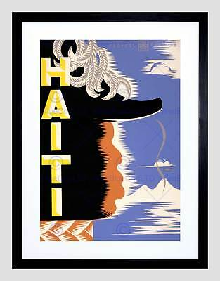 Theatre Stage Play Haiti Napoleon Louverture New Framed Art Print B12X10540