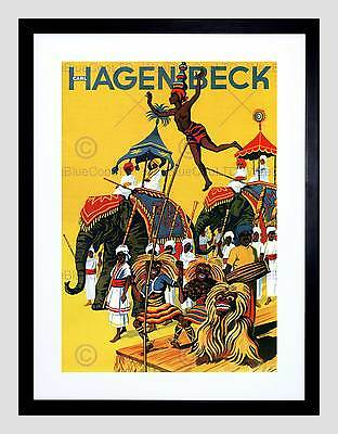 COMMERCIAL ADVERT CEYLON TEA HAGENBECK BERLIN GERMANY POSTER ART PRINT BB1725A