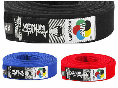 VENUM WKF Approved Karate Belt- MMA Bjj Training Sparring
