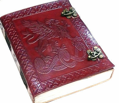 Leather Embossed Griffen Journal-**brand New**