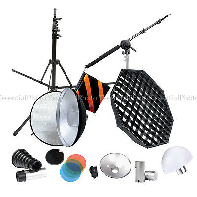 HyBRID360 Bare Bulb Flash Complete Lighting Modifier Kit Godox AD360 AD180