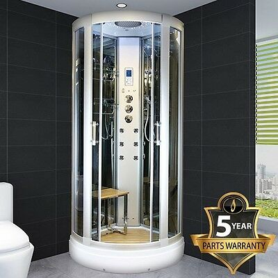 Insignia INS9012 Glass Ensuite Steam Shower Enclosure 800mm AMI Essence