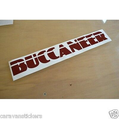 BUCCANEER Name Sticker Decal Graphic - (STYLE 1) - (CUT VINYL) - SINGLE