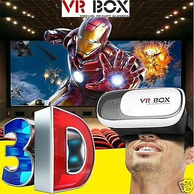 New Cardboard VR Box 2nd Gen Google Virtual Reality 3D Glasses Bluetooth Control