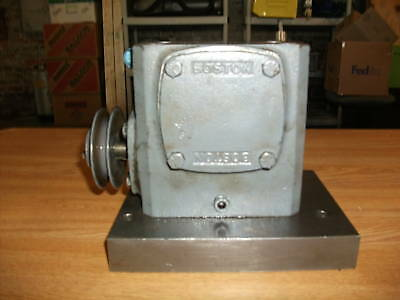 Boston Gear Worm Gear Speed Reducer 71815J