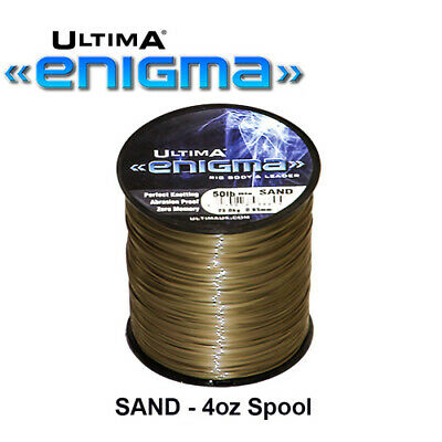 Ultima Enigma Super Snood 4oz Spools - Cod Bass Eel Ling Sea Fishing Line Tackle